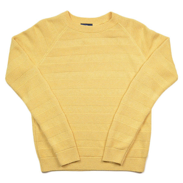 The Jante Law – JL 408 R-neck Sweater – Banane
