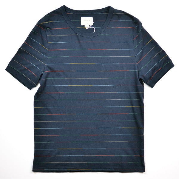 This Is Not A Polo Shirt. – S/S Tee Space Dye – Navy