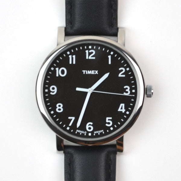 Timex - Easy Reader - Black / Black