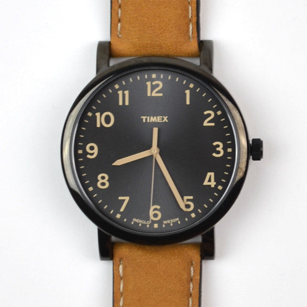 Timex - Easy Reader - Black / Brown