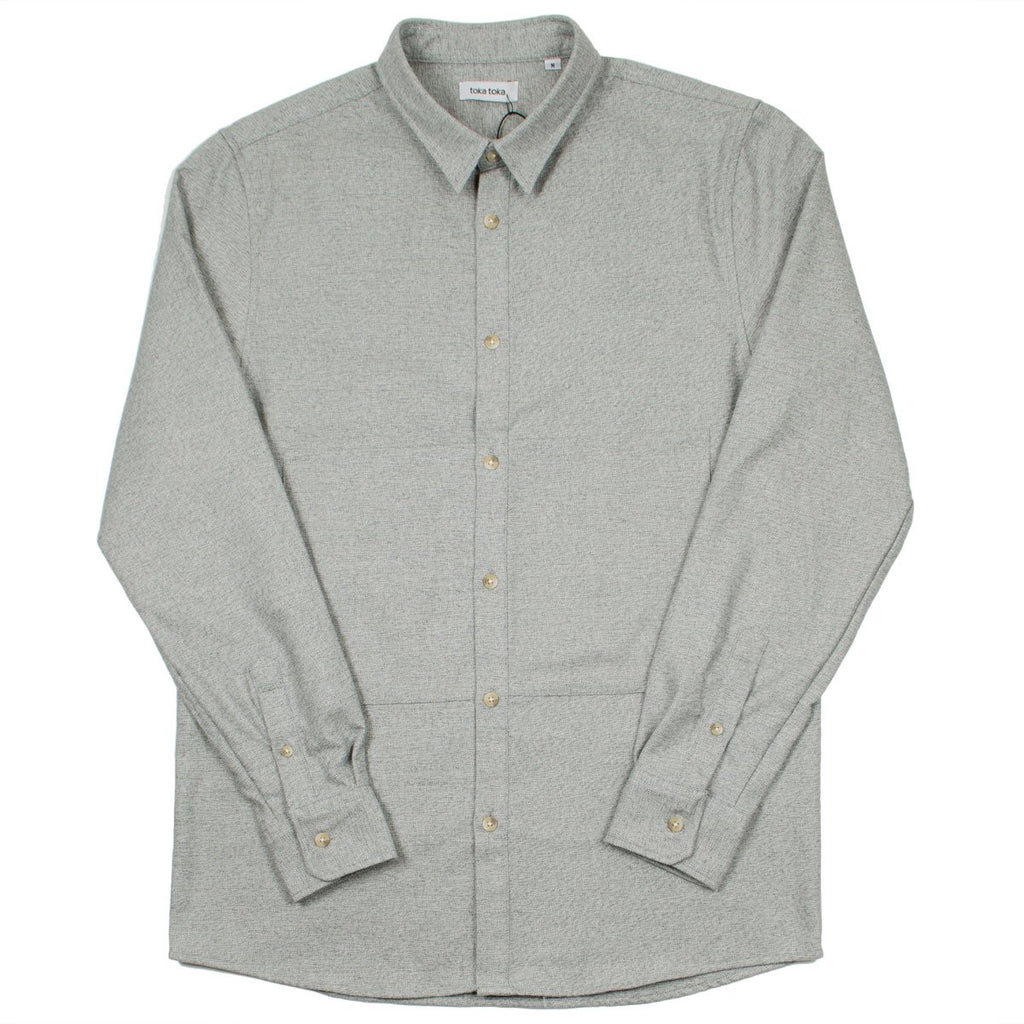 Toka Toka - Mark Shirt - Heather Grey