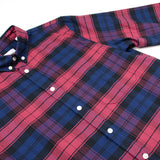 Toka Toka - Peter Check Shirt - Bucheron (Red / Navy)
