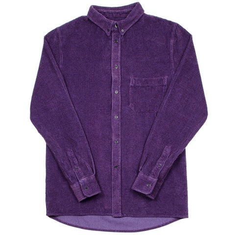 Toka Toka - Peter Corduroy Shirt - Velour Chardon (Purple)