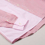 Toka Toka - Peter Parasol Shirt - Multi (Pink Stripes)