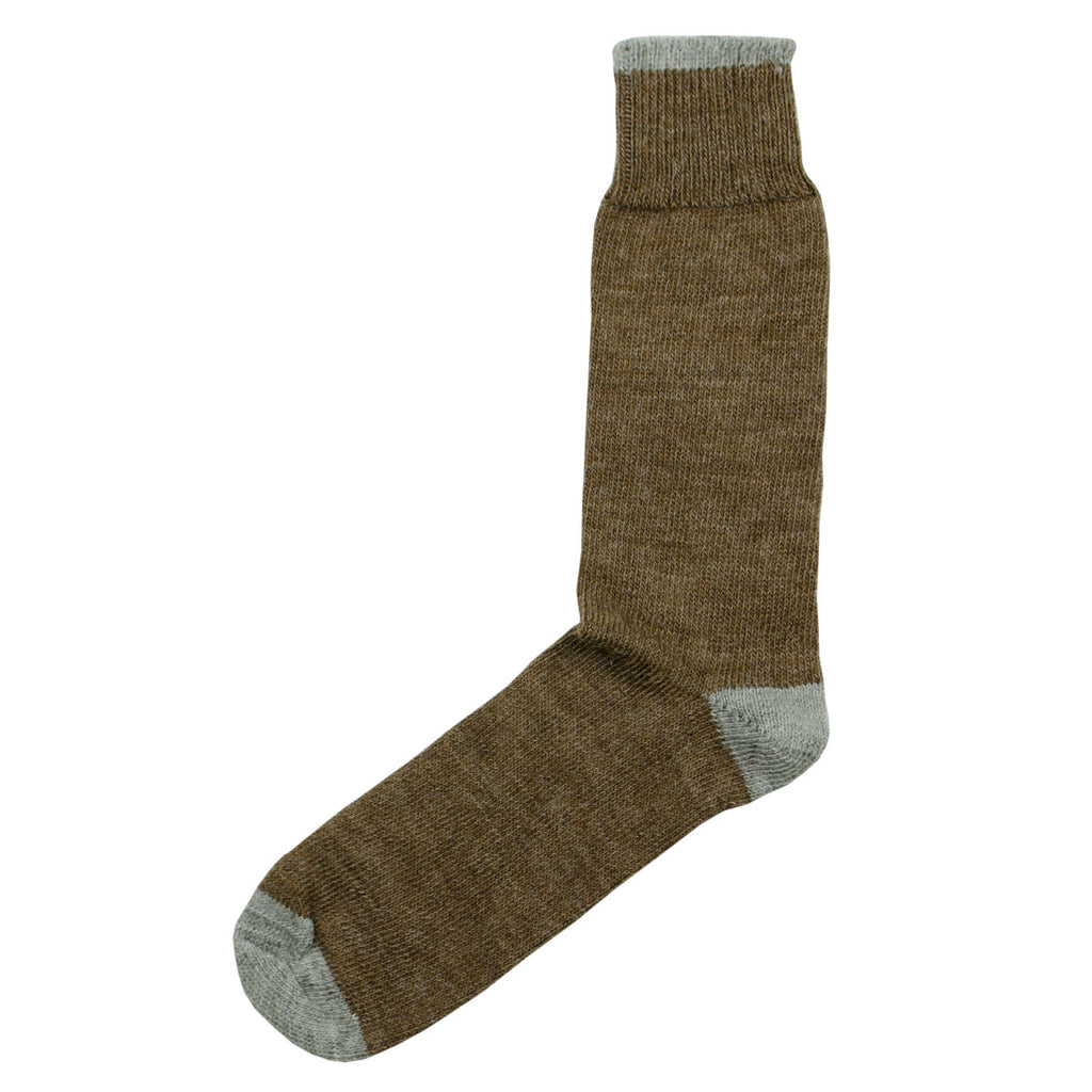 Universal Works - Alpaca Socks - Brown