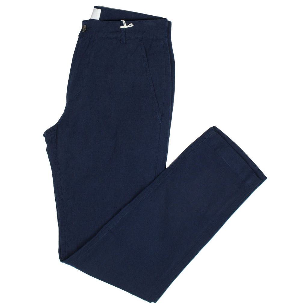 Universal Works - Aston Pant Cotton Linen - Navy
