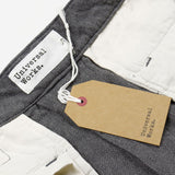 Universal Works - Aston Pant Cotton Linen Panama - Grey