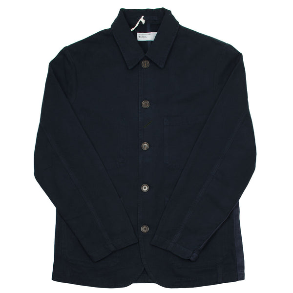 Universal Works - Bakers Jacket Canvas - Navy