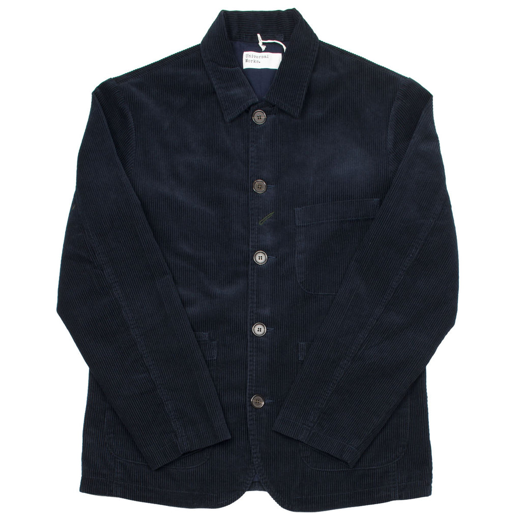 Universal Works - Bakers Jacket Cord - Navy