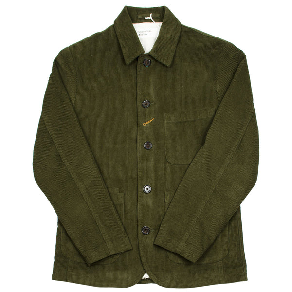 Universal Works - Bakers Jacket Cord - Olive