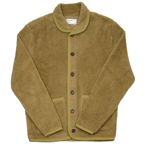 Universal Works - Lancaster Jacket Mountain Fleece - Sand