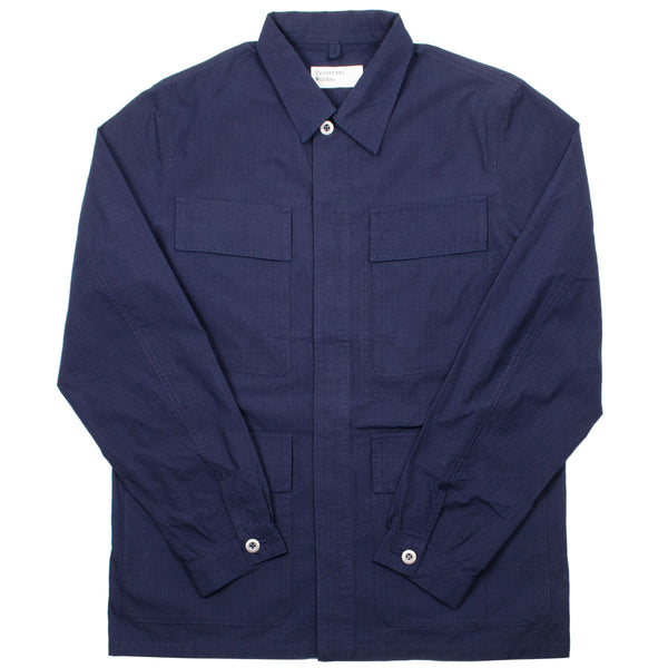 Universal Works - MW Fatigue Jacket Ripstop - Navy