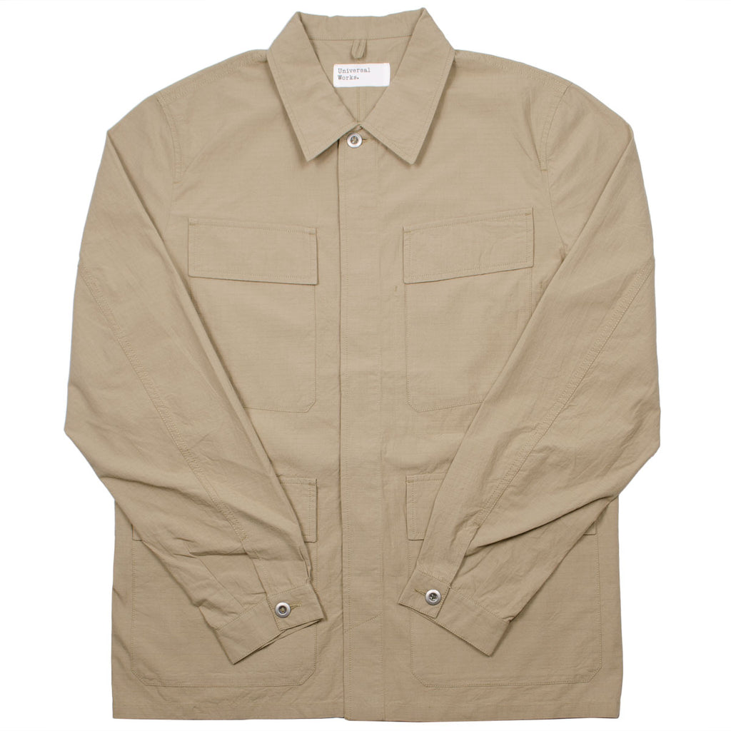 Universal Works - MW Fatigue Jacket Ripstop - Sand