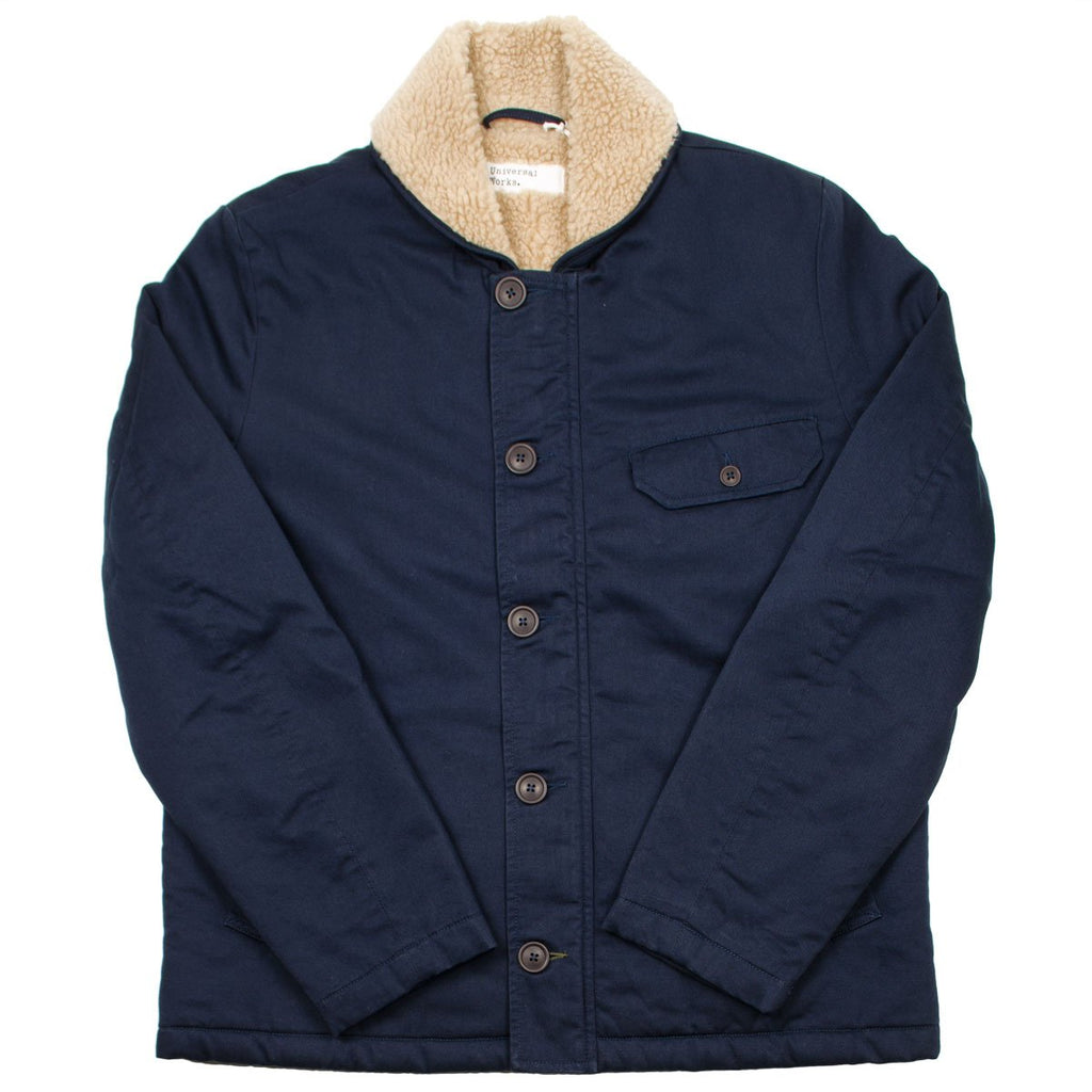 Universal Works - N1 Jacket Twill - Navy