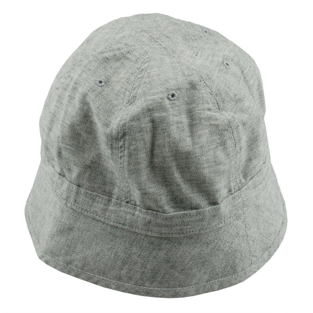 Universal Works - Naval Bucket Hat Pale Denim - Grey