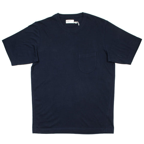 Universal Works - Pocket Tee Single Jersey - Navy