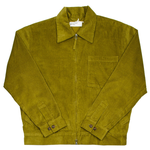 Universal Works - Rose Bowl Jacket 8 Wale Cord - Mustard
