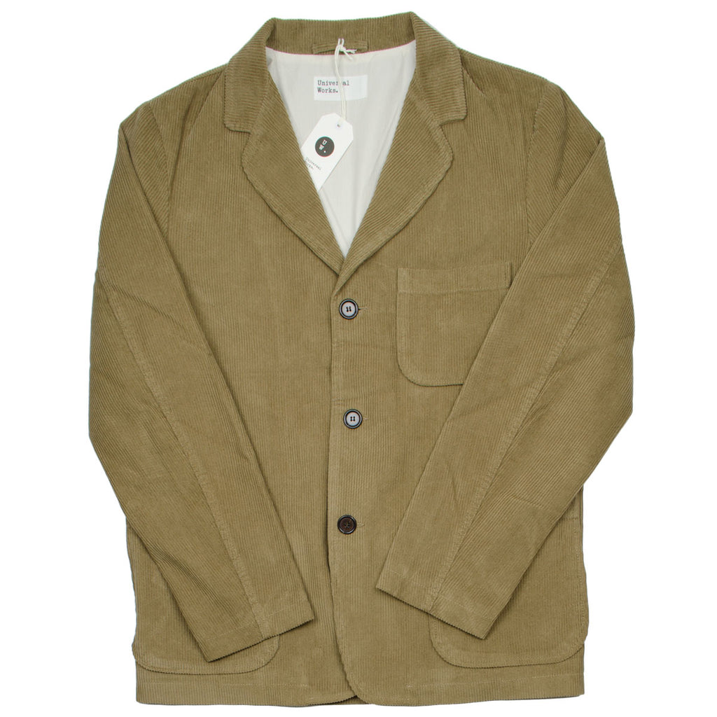Universal Works - Three Button Jacket Cord - Taupe