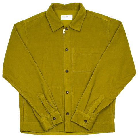 Universal Works - Uniform Shirt Fine Cord - Mustard