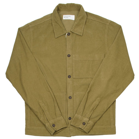 Universal Works - Uniform Shirt Fine Cord - Taupe
