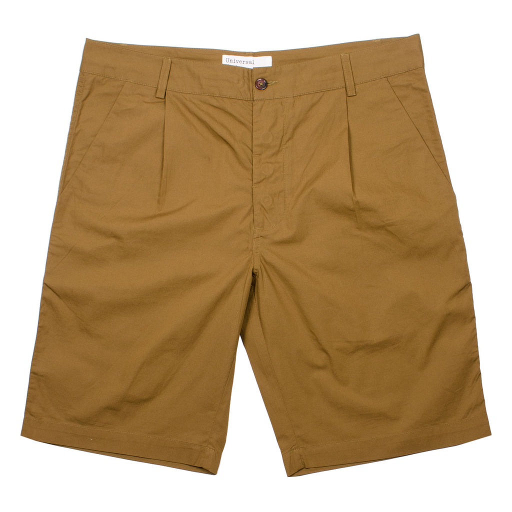 Universal Works - Walk Short Poplin - Khaki