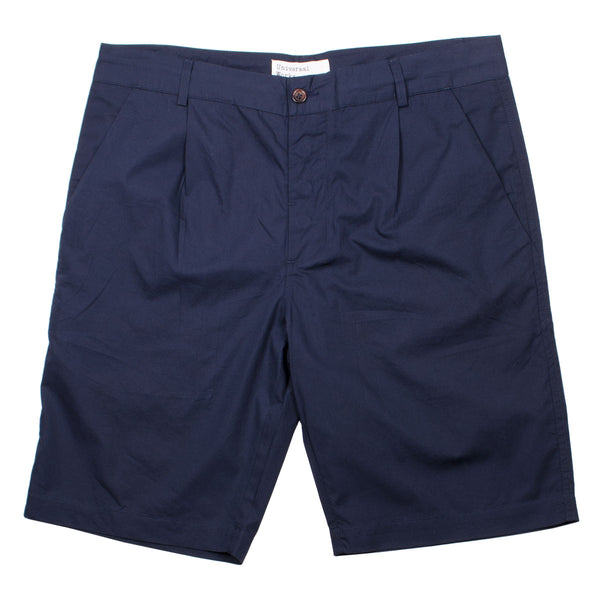 Universal Works - Walk Short Poplin - Navy