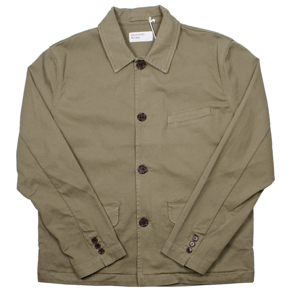 Universal Works - Warmus Jacket Cavalry Twill - Olive