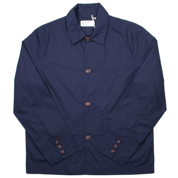 Universal Works - Warmus Jacket Poplin - Navy
