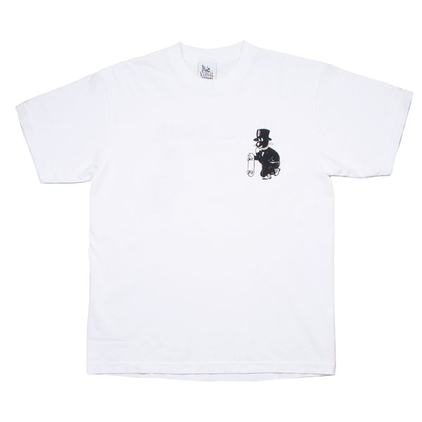 Virgil Normal - Biz in the Streets T-shirt - White