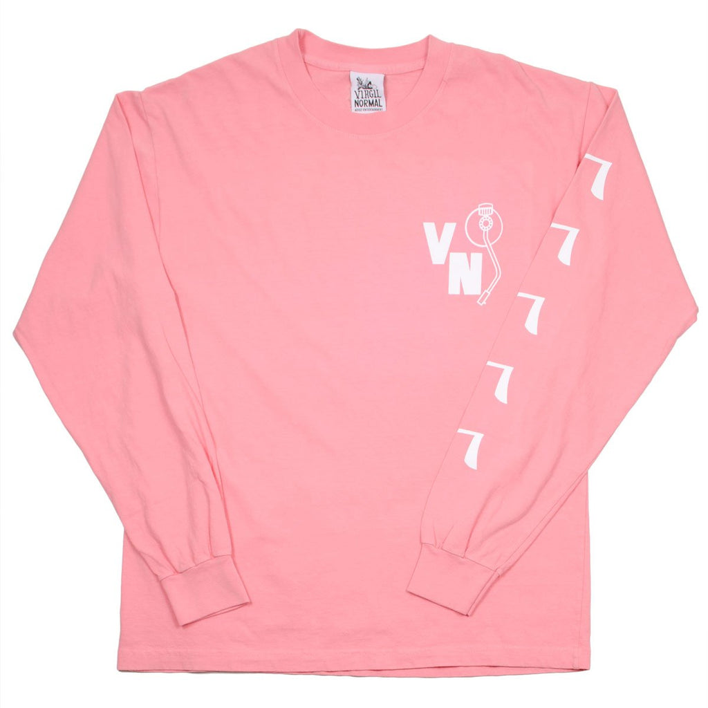 Virgil Normal - Hot Dog Mania LS T-shirt - Pink
