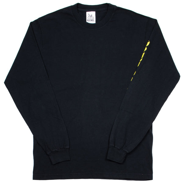 Virgil Normal - Tape Minded LS T-shirt - Black