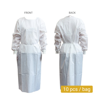 Level 2 Waterproof Isolation Gown (10 pcs)