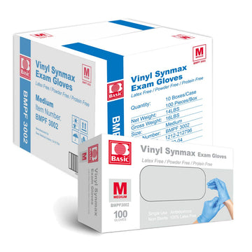 Vinyl Synmax Exam Gloves (100 gloves)