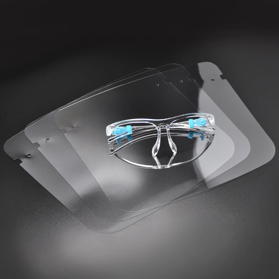 MiMM Face Shield (3) + Eye Frame (1)