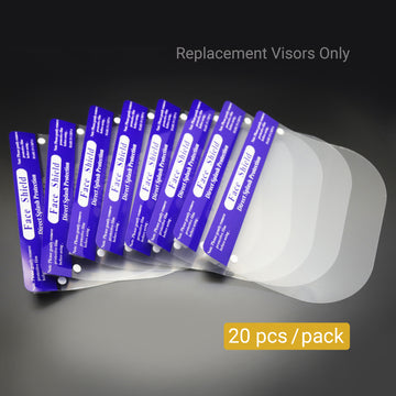 MiMM Replacement Visors for FS011007 (20 pcs)