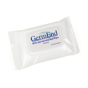 GermEnd Alcohol Free Disinfectant Wipes - 30 ct pack