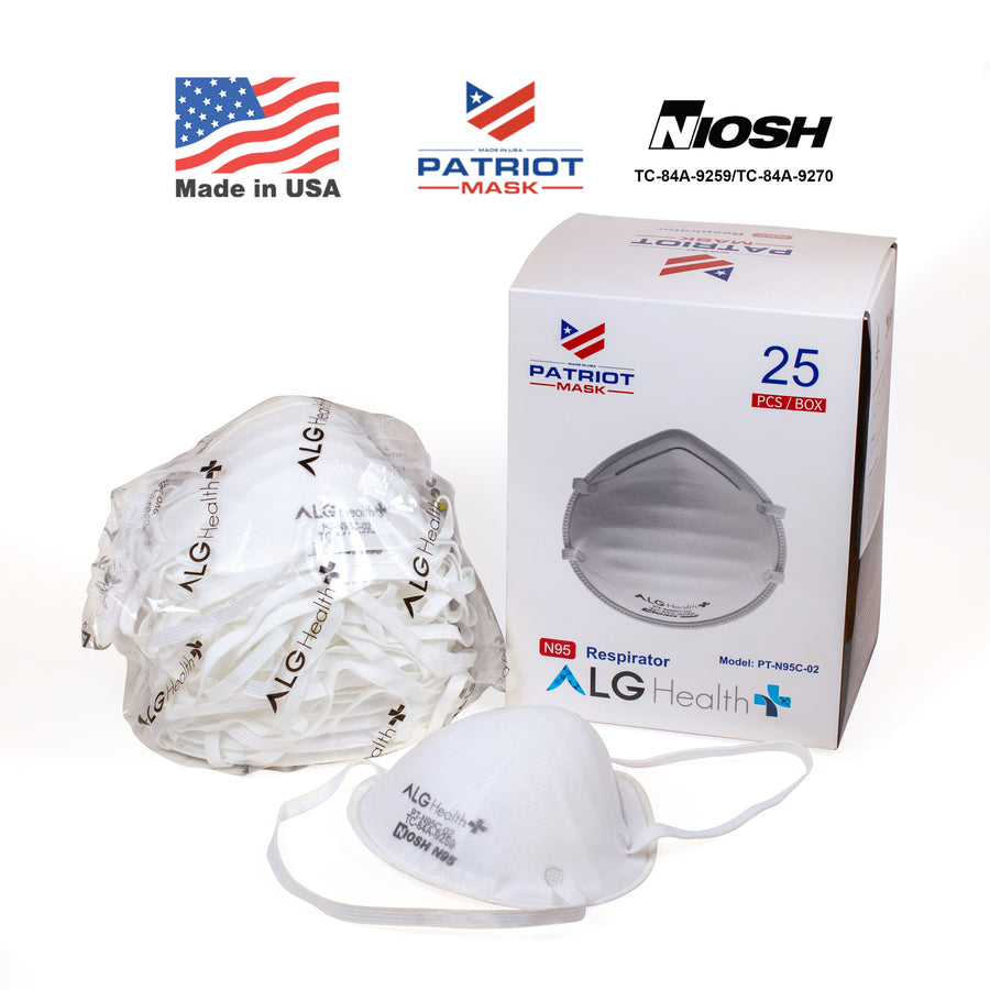 Molded Cup NIOSH Certified N95 Particulate Respirator (25 pcs)