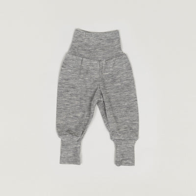 Babybox and Family Engel Bundhose aus Wolle & Seide 50/56 hell grau
