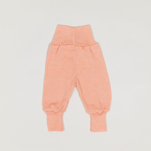Babybox and Family Engel Bundhose aus Wolle & Seide 50/56 lachs