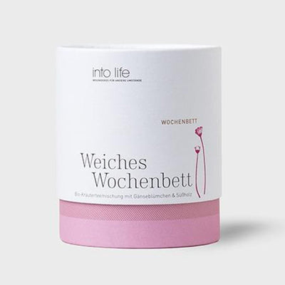 Babybox and Family Into Life Weiches Wochenbett Tee