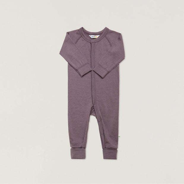 Babybox and Family Joha Pyjama aus Wolle 56/62 beere