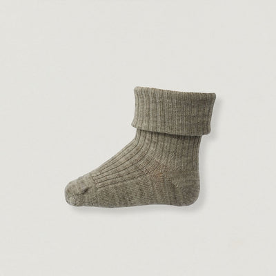 Babybox and Family MP Denmark Socken aus Wolle - Standard sand 15-16