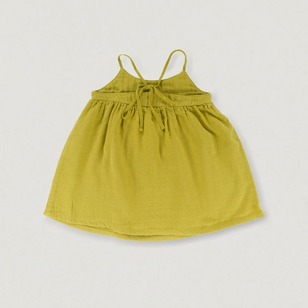 Babybox and Family Omibia Kleid aus Baumwolle lime 4J