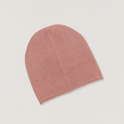 Babybox and Family Papa Lobster Beanie aus Kaschmir altrosa 0-6m