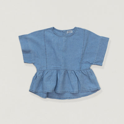 Babybox and Family Play Up Bluse aus Jeans 3J denim