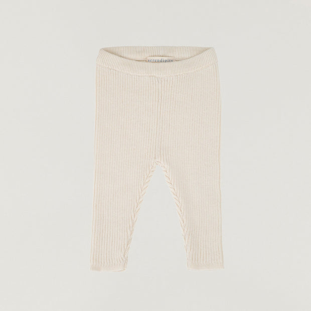 Babybox and Family Serendipity Leggings aus Baumwolle offwhite 56