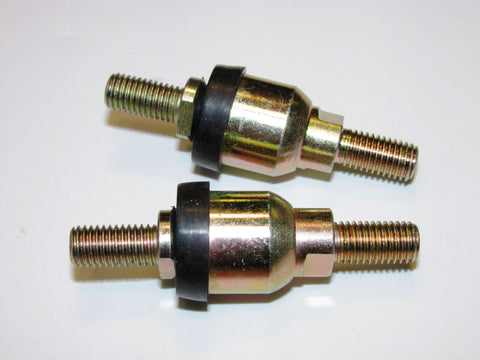 Heavy Duty Inline Booted Ball Joint Pair (male shank)