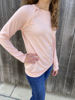 Pink Zip Sweatshirt