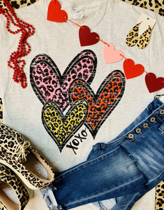 Leopard Hearts