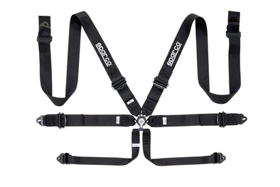 "Sparco 6 Point 3"" Aluminum Seat Belt Harness"